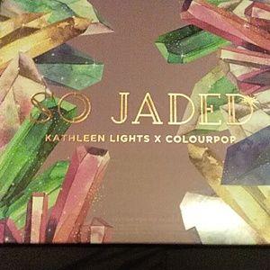 Colourpop x Kathleen Lights So Jaded Pallet